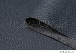Автомобильная кожа 17 BLUE RELIEF