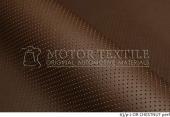 Автомобильная перфорированая кожа  63/p2 CHESTNUT