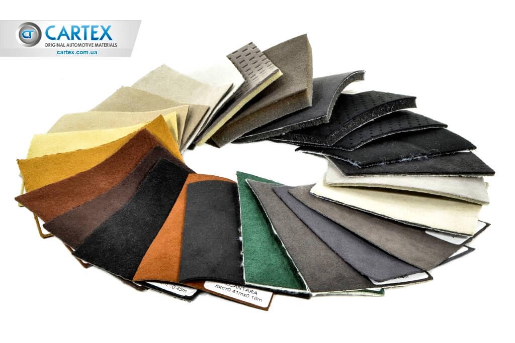 Автомобильная кожа компания Motor Textile -80