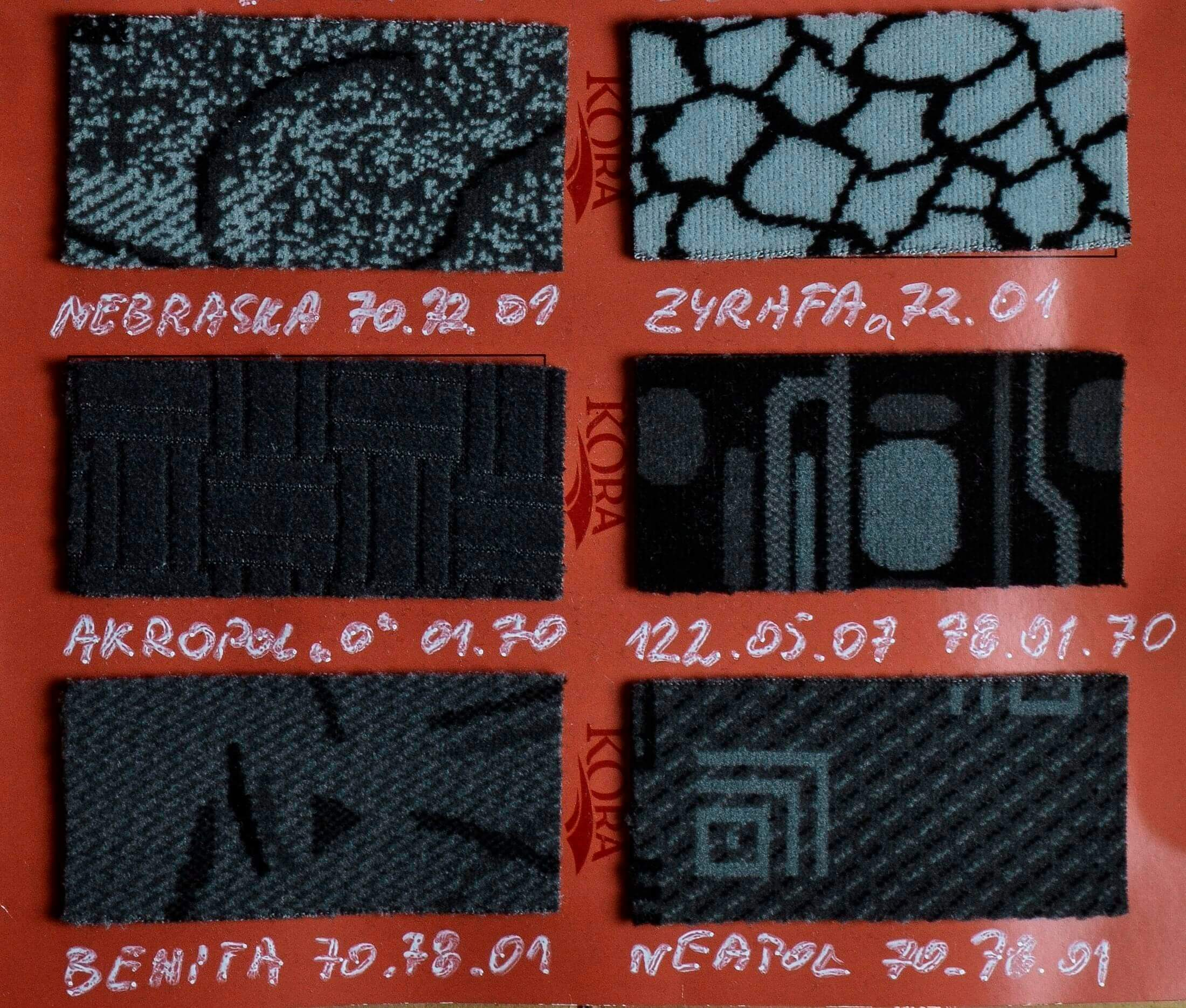 Автомобильная кожа компания Motor Textile -164